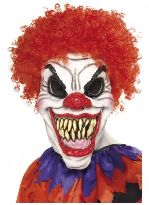 Scary Clown Mask Foam Rubber