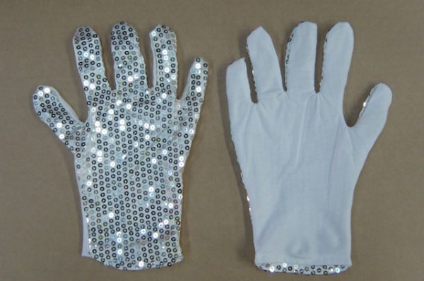 Sequin Michael Jackson Glove x 1 (Single, not paired)
