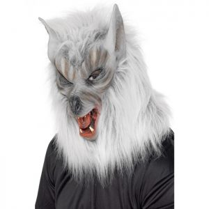 Silver Wolf Mask