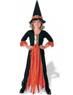 Witch Black and Orange
