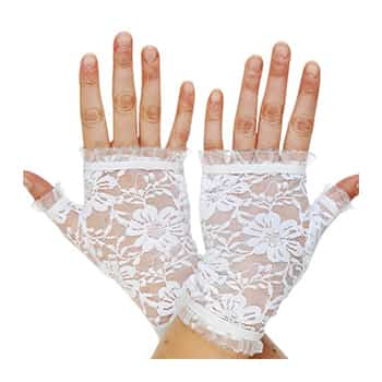 Gloves for dress up shops