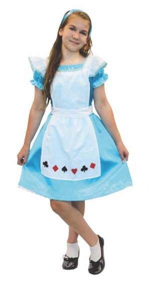 Alice in Wonderland Tween Size 12-14 and 14-16 Costume