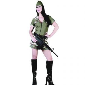 Army Girl Costume