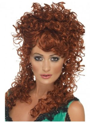 Auburn Saloon Girl Wig