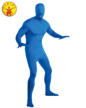 BLUE 2ND SKIN SUIT, ADULT