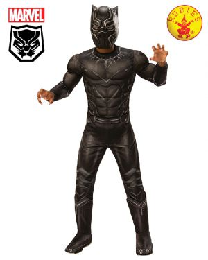 Black Panther Deluxe Costume, Child