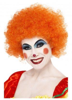 Clown Orange Wig