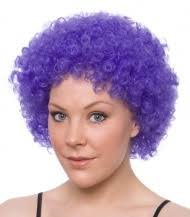 Clown Purple Wig