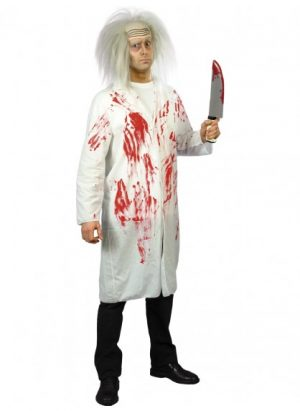 Doctor's Lab Coat with Blood