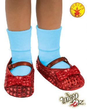 Dorothy Sequin Shoe Covers, Child