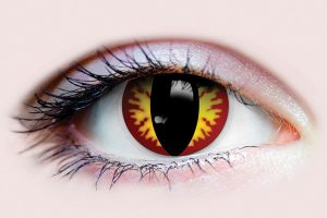 Dragon Costume Contact Lens