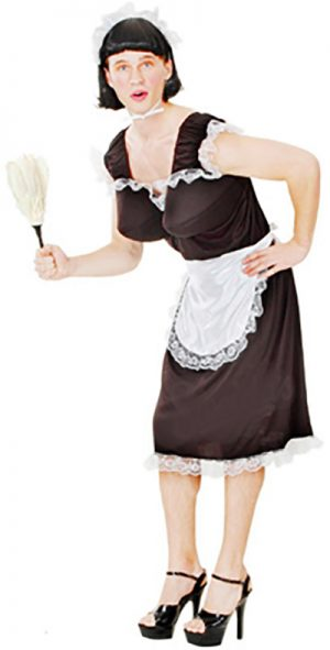 Funny Man Frenchmaid - Adult