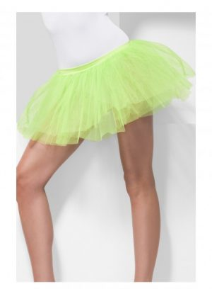 Neon Green Tutu Underskirt 4 Layers