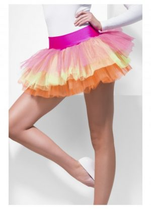 Neon Multi Colours Tu tu Underskirt
