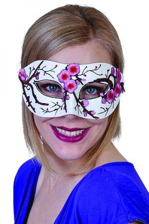 Pink Blossom Eye Mask