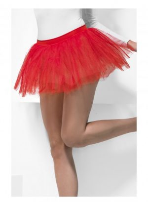 Red Tutu Underskirt 4 Layers