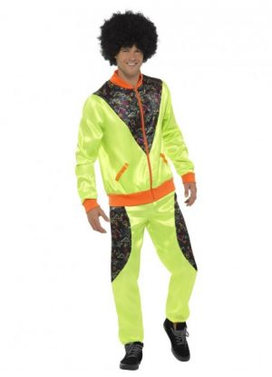 Retro Shell Suit Costume 80's