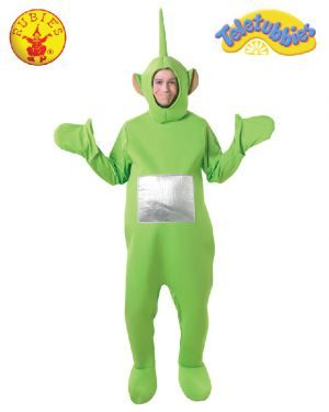 Teletubbies Dipsy Deluxe Costume, Adult
