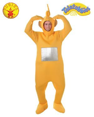 Teletubbies Laa-Laa Deluxe Costume, Adult