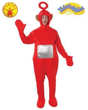 Teletubbies Po Deluxe Costume, Adult