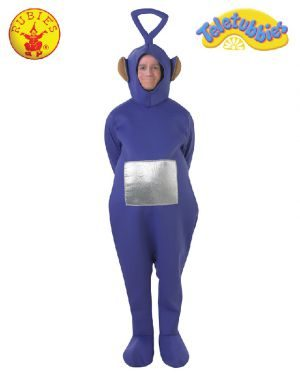 Teletubbies Tinky Winky Deluxe Costume, Adult
