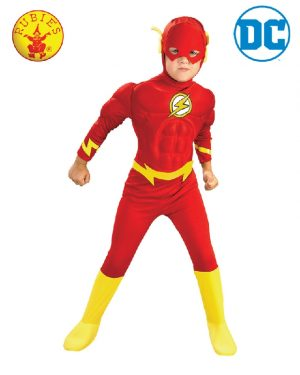 The Flash Deluxe Child Muscle Chest Costume