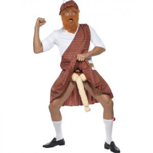 Well Hung Highlander Costume Scottish