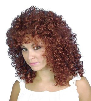 Auburn Glamour Ringlets Wig
