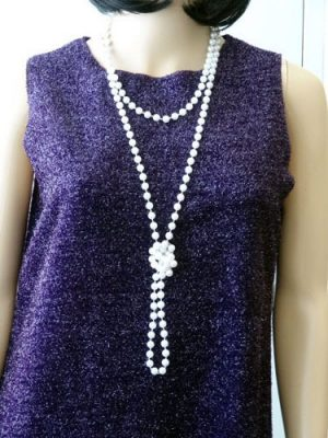 Beads Flapper - Pearl 183 cm