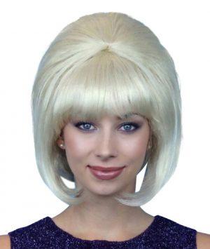 Beehive Wig Blonde 60's Deluxe