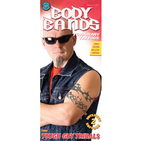 Body Bands Tattoos - Tougher Tough Guy Tribals