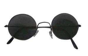 Glasses - Dark Lenses Lennon Sunglasses