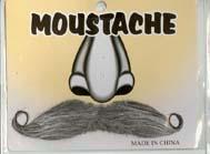 Grey Moustache B0008GREY