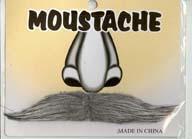 Grey Moustache B0014GREY
