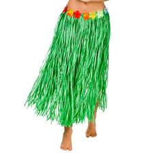 Hawaiian Hula Skirt Green
