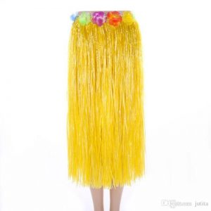 Hawaiian Hula Skirt Yellow