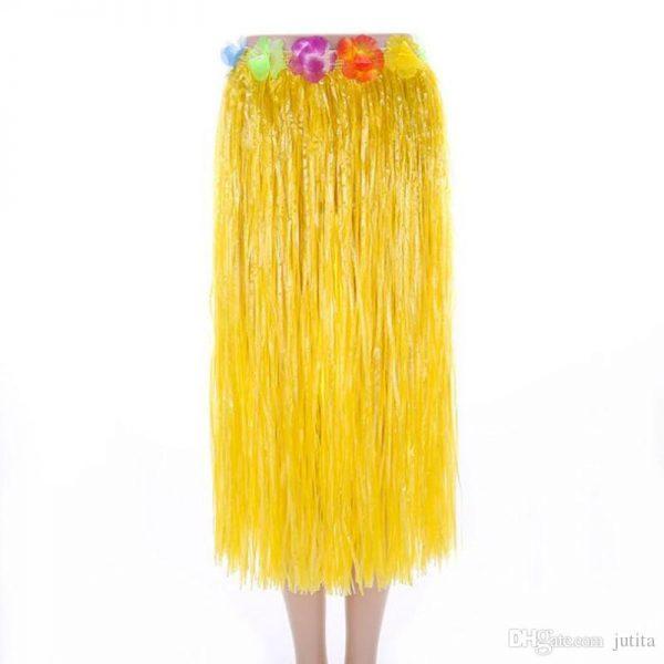 Hawaiian Hula Skirt Yellow