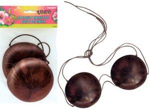 Luau Coconut Bra Bikini Top