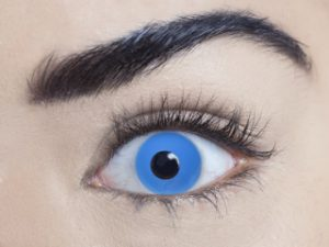 Zombie Blue 1 Day Contact Lens