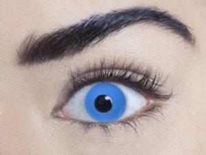 Zombie Blue 3 Month Contact Lenses