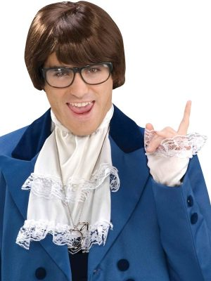 Austin Powers Groovy Man Jabot, Medalion and Cuffs Kit