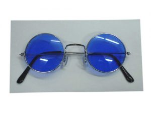 Glasses - Lennon Sunglasses - Blue