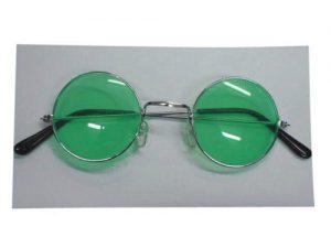 Glasses - Lennon Sunglasses - Green
