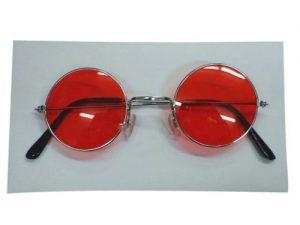 Glasses - Lennon Sunglasses - Red