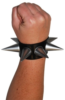 Punk Rock Spike Wrist Cuff