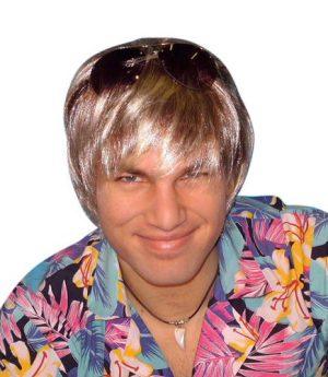 Surfer Dude - Bleach Blonde Wig