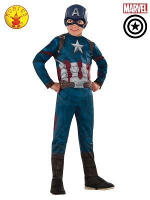 CAPTAIN AMERICA CLASSIC INFINITY WAR COSTUME, CHILD