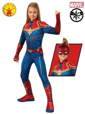 Captain Marvel Classic Hero Suit Child