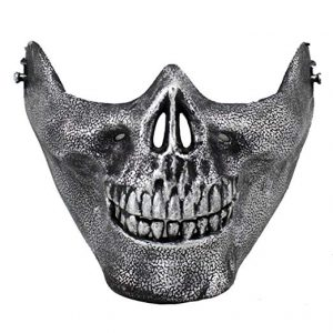Skull Skeleton Half Mask