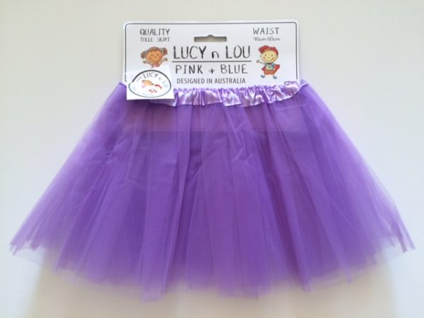 Tulle Skirt – Lilac